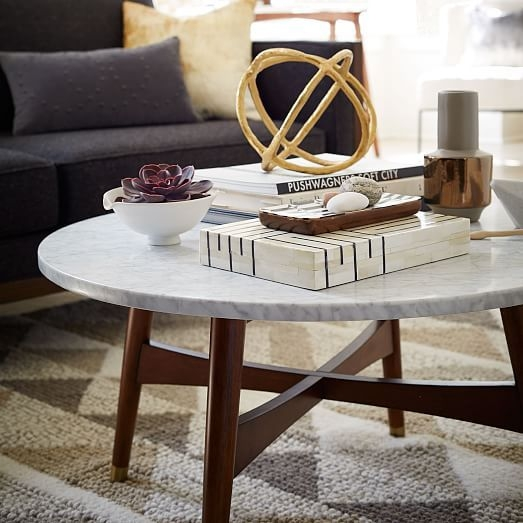 Excellent Latest Marble Round Coffee Tables Within Best 25 Marble Top Coffee Table Ideas On Pinterest Marble (View 12 of 50)