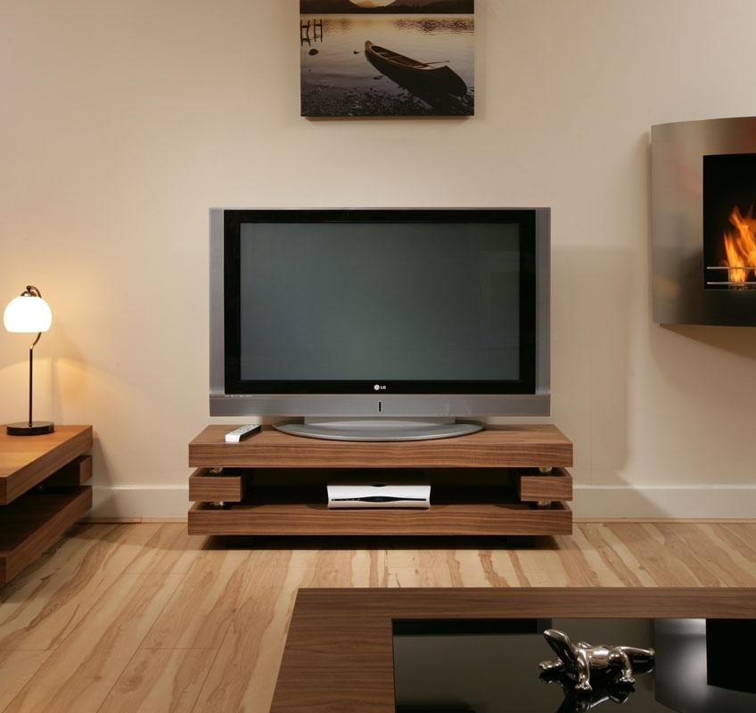 Excellent Latest Modern Walnut TV Stands Intended For Modern Quatropi Designer Tv Cabinettelevision Stand Elm Stunning 397f (View 13 of 50)