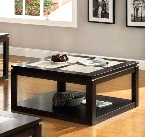 Excellent Latest Oak Square Coffee Tables Regarding Extra Large Square Coffee Table For Fine Leisure Time Incoffee (View 37 of 50)