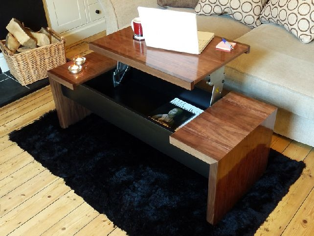 Excellent Latest Raise Up Coffee Tables Inside Coffee Table That Lifts Up Idi Design (View 34 of 40)