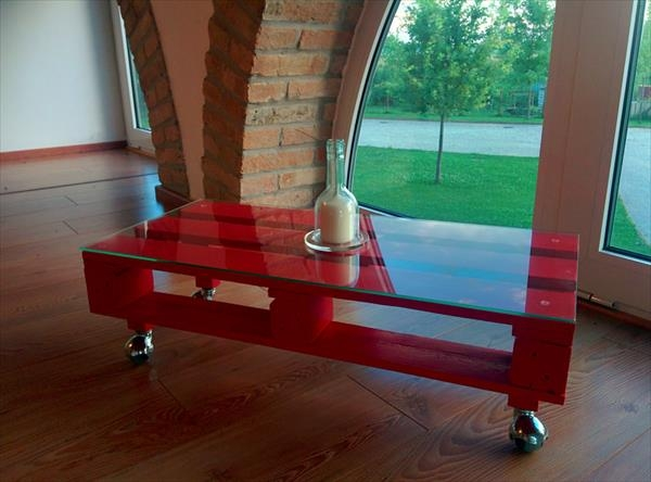 Excellent Latest Red Coffee Table Inside Beautiful Red Coffee Tables Ideas (Image 11 of 50)