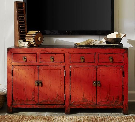 Excellent Latest Red TV Cabinets With 77 Best Tv Cabinets Images On Pinterest Tv Cabinets Painted (Image 19 of 50)