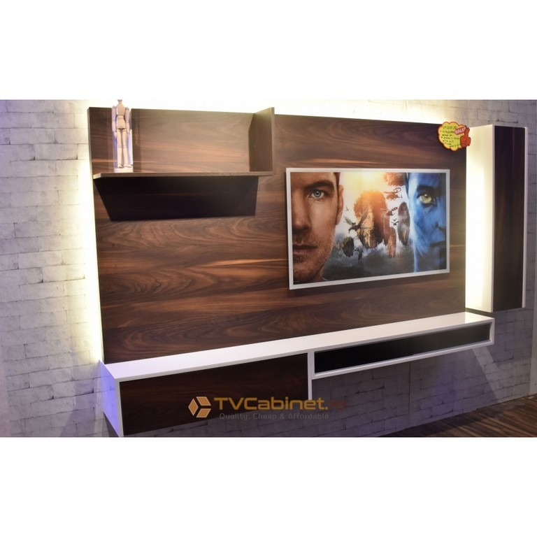 Excellent Latest Silver Corner TV Stands Regarding Black And Silver Tv Stand (Image 18 of 50)