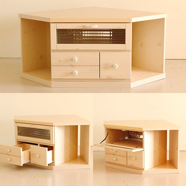 Excellent Latest Solid Wood Corner TV Cabinets With Regard To Atom Style Rakuten Global Market Cute Tv Stand Corner Board (Image 17 of 50)