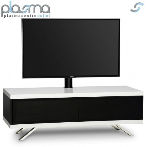 Excellent Latest White Cantilever TV Stands Regarding Mda Designs Tucana Hybrid Cantilever Tv Stand For Upto 60 Tvs (Image 10 of 50)