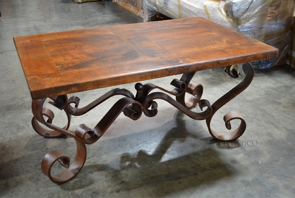 Excellent Latest Wrought Iron Coffee Tables Pertaining To Wrought Iron Coffee Table Base (Image 14 of 50)
