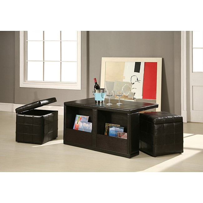 Excellent New Coffee Tables With Seating And Storage In Coffee Table Adjustable Coffee Table With Stools Glass Coffee (Image 22 of 50)