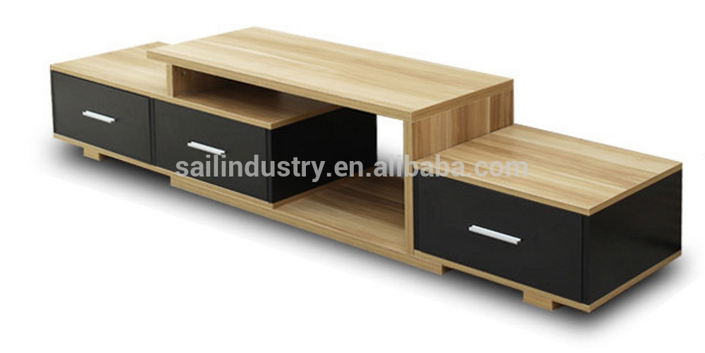 Excellent New Contemporary Wood TV Stands With Modern Woodentv Stand Crowdbuild For (Image 12 of 50)