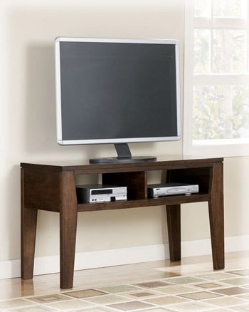 Excellent New Dark TV Stands In Amazon Contemporary Dark Brown Deagan Tv Stand Kitchen Dining (Image 16 of 50)
