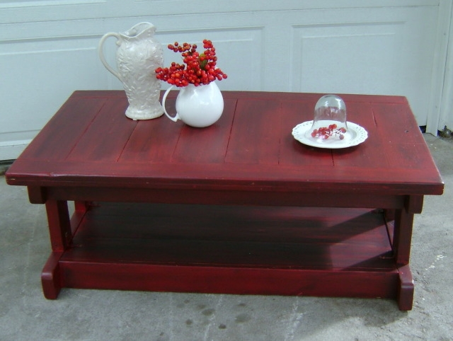 Excellent New Red Coffee Table With Red Coffee Table (Image 12 of 50)