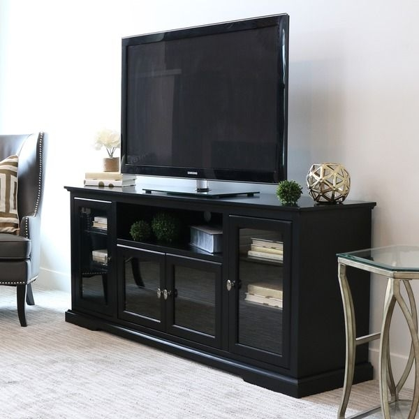 Excellent Popular Black TV Stands With Drawers Pertaining To Best 25 Black Tv Cabinet Ideas On Pinterest My Photo Gallery A (Image 12 of 50)