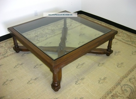 Excellent Popular Black Wood And Glass Coffee Tables With Wood Glass Coffee Table Jerichomafjarproject (Image 13 of 49)