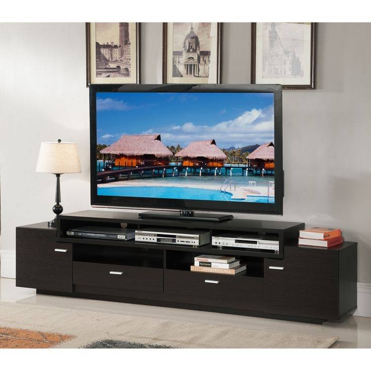 Excellent Popular Cool TV Stands Throughout Tv Stands Modern Open Storage Tv Stands With Drawers Design Ideas (Image 14 of 50)