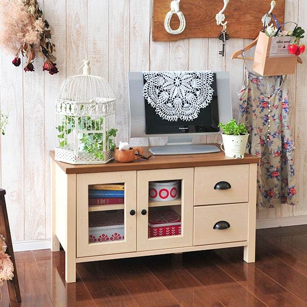 Excellent Popular Country Style TV Stands Regarding Atom Style Rakuten Global Market Units Lowboard 32 Snack (View 48 of 50)