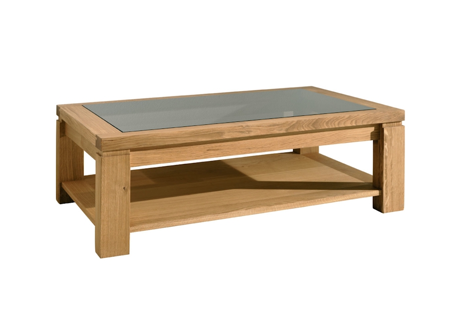 Excellent Popular Oak And Glass Coffee Tables Within Top Coffee Table Glass Design (Image 14 of 50)