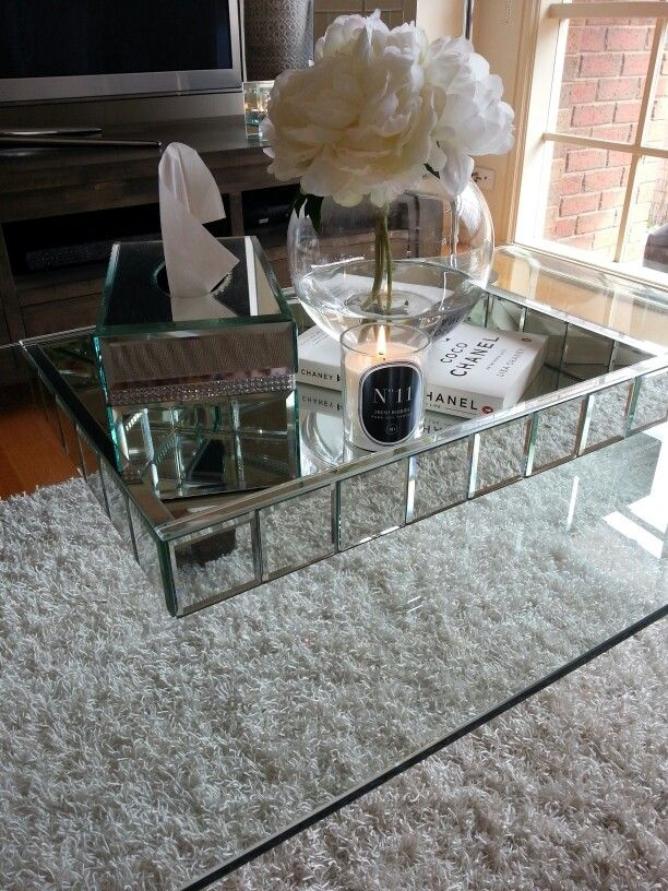 Excellent Popular Small Mirrored Coffee Tables Inside Best 25 Coffee Table Tray Ideas On Pinterest Wooden Table Box (View 14 of 50)