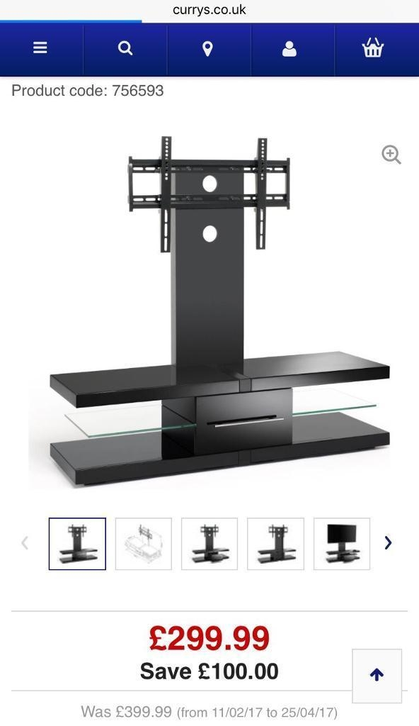 Excellent Popular Techlink Echo Ec130tvb TV Stands Throughout Techlink Echo Ec130tvb Tv Stand With Bracket In Sidcup London (Image 14 of 50)
