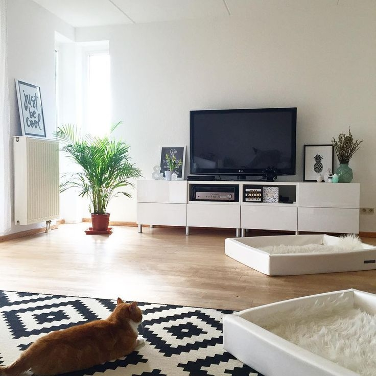 Excellent Popular TV Stands At IKEA Intended For Tv Stands Excellent Flat Screen Tv Stands Ikea 2017 Gallery Flat (Image 19 of 50)