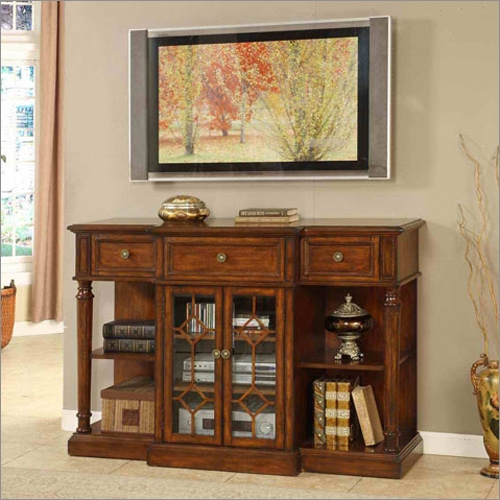 Excellent Preferred Antique Style TV Stands Regarding San Gabriel Antique Style Tv Stand Signature Home Furnishings (Image 13 of 50)