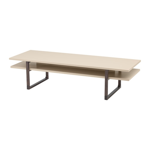 Excellent Preferred Beige Coffee Tables For Rissna Coffee Table Ikea (Image 11 of 40)