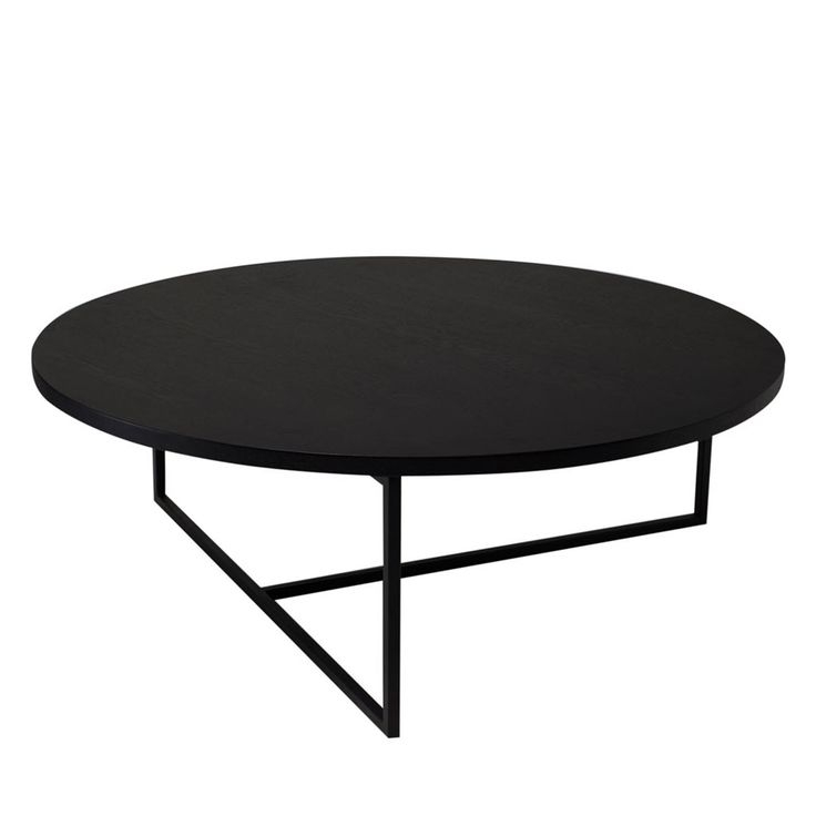 Excellent Preferred Black Circle Coffee Tables Within Round Coffee Tables (View 15 of 50)