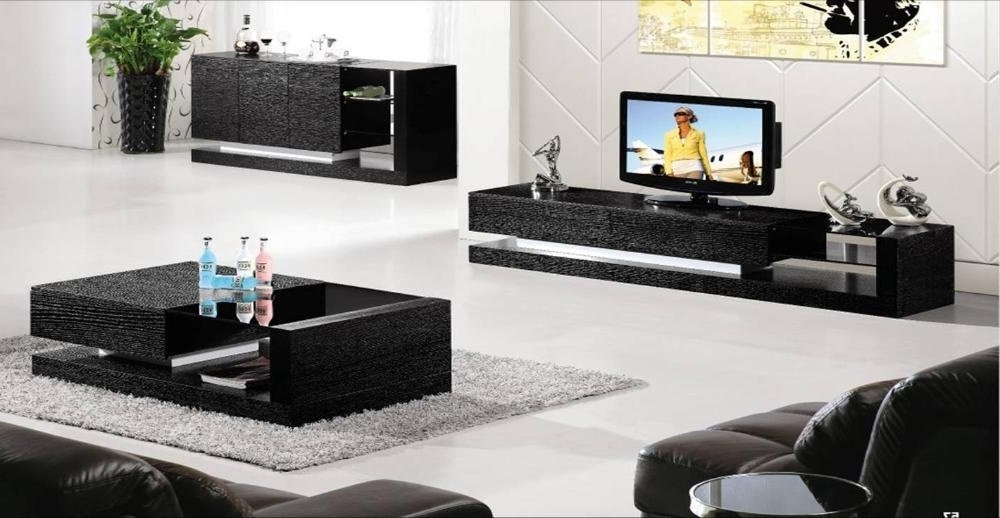 Excellent Preferred Coffee Tables And Tv Stands Matching Pertaining To Marvelous Coffee Table Set (Image 12 of 40)