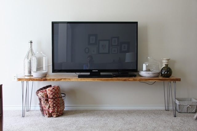 Excellent Preferred Hairpin Leg TV Stands With Terrific Hairpin Leg Tv Stand 22 In Home Remodel Ideas With (Image 15 of 50)