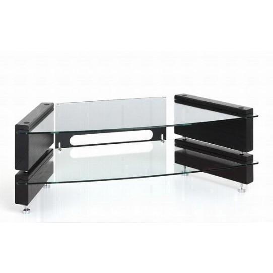 Excellent Preferred Low Corner TV Stands For Low 2 Shelf Corner Tv Stand Milan Lcd Cnr 2 Big Av (View 19 of 50)