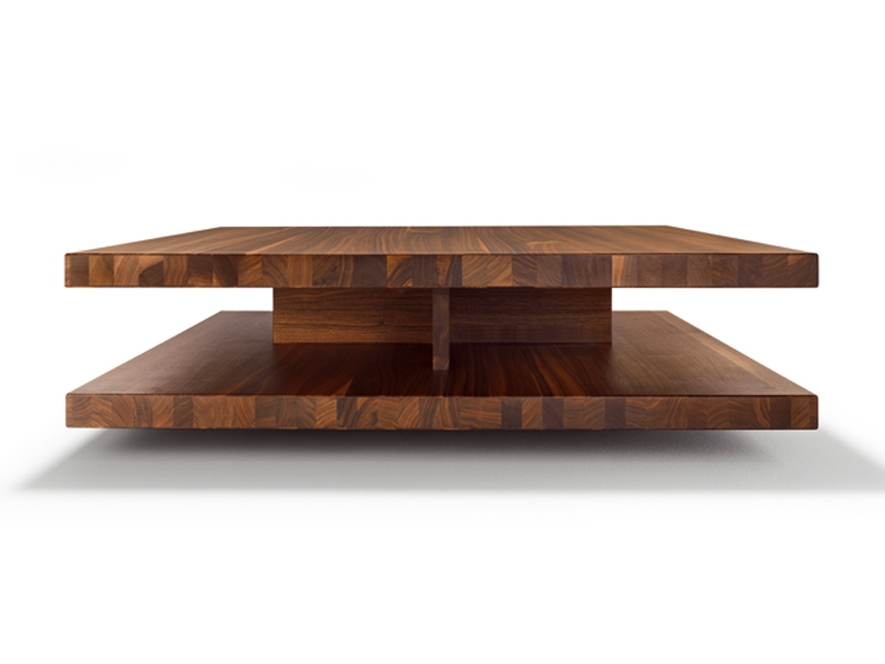 Excellent Preferred Low Square Wooden Coffee Tables For Low Square Wooden Coffee Table C3 Team 7 Design Sebastian Desch (Image 14 of 50)