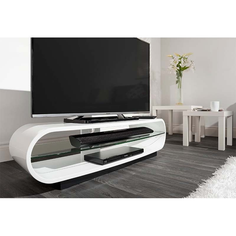 Excellent Preferred Ovid TV Stands Black Intended For Ovid Tv Stand Black Home Design Ideas (Image 13 of 50)