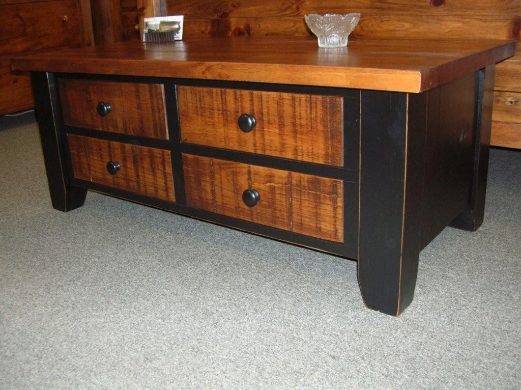 Excellent Preferred Pine Coffee Tables With Storage Pertaining To Country Coffee Tables With Storage Coffee Addicts (Image 16 of 50)