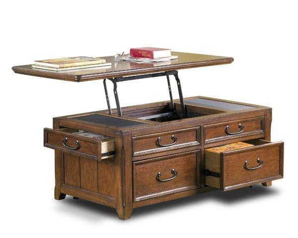 Excellent Preferred Raisable Coffee Tables Intended For American Furniture Warehouse Coffee Side Accent Tables Afw (View 10 of 40)