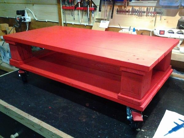 Excellent Preferred Red Coffee Table Intended For Red Coffee Table (Image 13 of 50)
