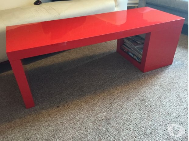 Excellent Preferred Red Gloss Coffee Tables Inside Ikea Red Gloss Coffee Table Posot Class (Image 11 of 40)