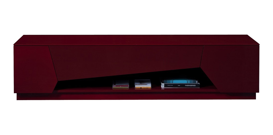 Excellent Preferred Red Gloss TV Stands Intended For Tv Stand In Bold Red High Gloss With Soft Closing Tracks (Image 17 of 50)