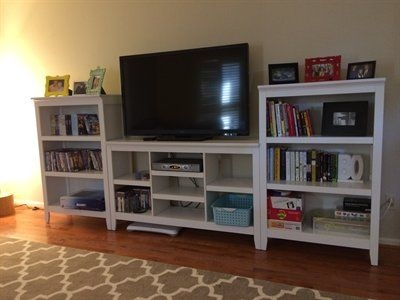Excellent Preferred TV Stands With Matching Bookcases Inside Best 25 Tv Stand With Storage Ideas On Pinterest Media Storage (View 2 of 50)