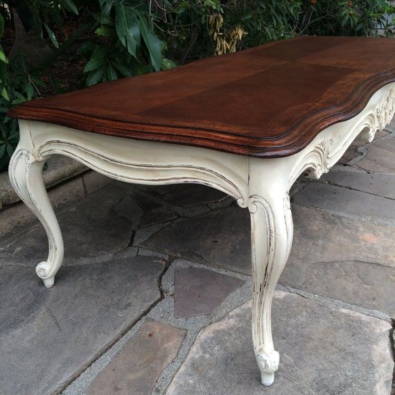 Excellent Preferred White French Coffee Tables Pertaining To Best 25 Refinished Coffee Tables Ideas Only On Pinterest (Image 19 of 50)