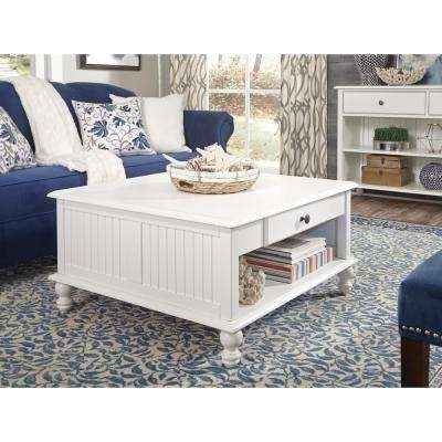 Excellent Preferred White Square Coffee Table Pertaining To International Concepts White Accent Tables Living Room (Image 11 of 50)