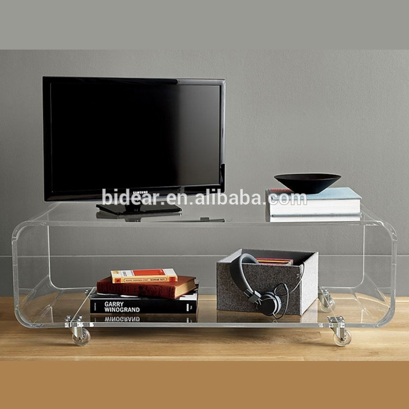 Excellent Premium Acrylic TV Stands Throughout Clear Acrylic Tv Stand Clear Acrylic Tv Stand Suppliers And (Image 11 of 50)