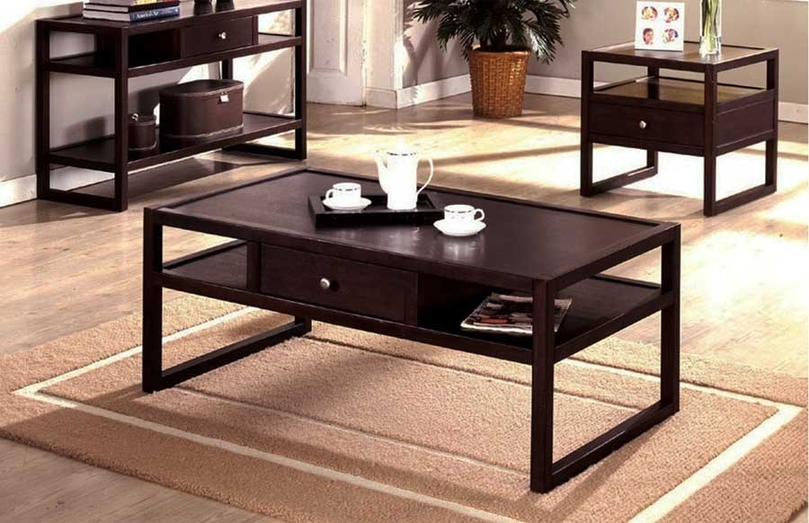 Excellent Premium Contemporary Coffee Table Sets Pertaining To Sleek And Stylish Coffee Table Sets Internationalinteriordesigns (Image 10 of 50)