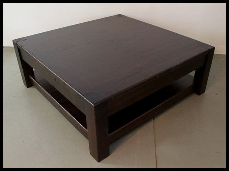 Excellent Premium Dark Wooden Coffee Tables With Cool Dark Wood Coffee Table Design (Image 16 of 50)