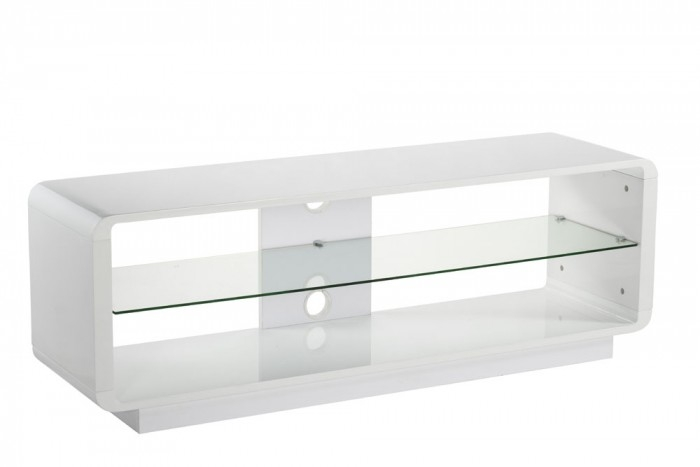 Excellent Premium Long White TV Stands With Choose For The Living Room With White Tv Stand And Glass Shelf Tv (Image 16 of 50)