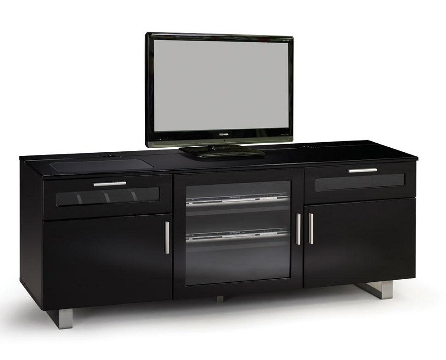 Excellent Premium Modern TV Stands Throughout Connect High Gloss Black Modern Tv Stands Contemporary Tv Stands (Image 13 of 50)