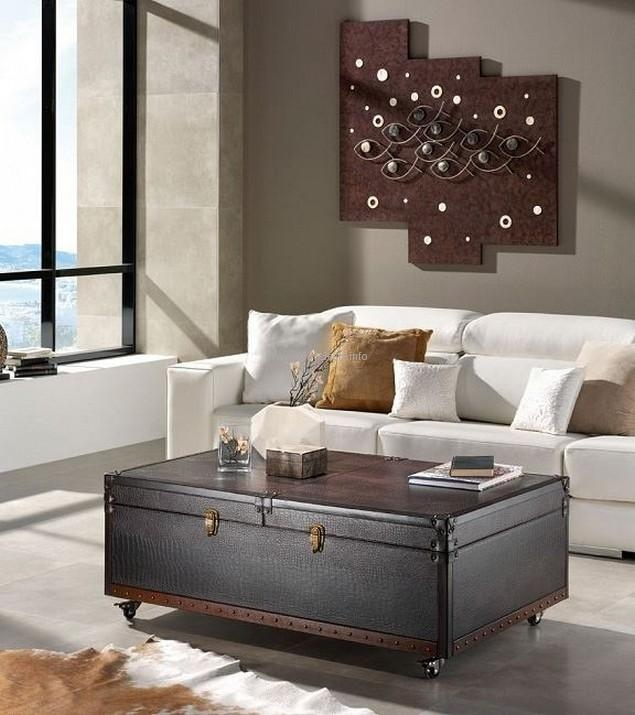 Excellent Premium Old Trunks As Coffee Tables In Convert Old Trunks Into Coffee Tables Upcycle Art (Image 14 of 50)