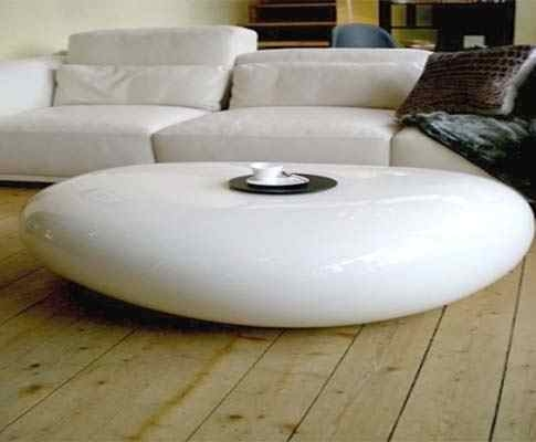 Excellent Premium Oval Shaped Coffee Tables Regarding Koishi Table For Coffee Naoto Fukusawa (View 44 of 50)