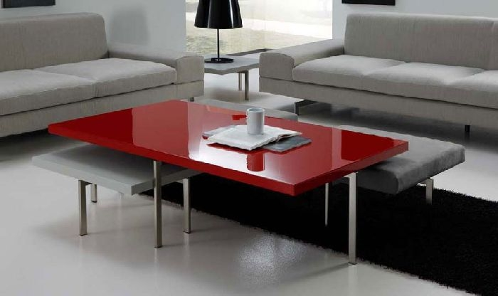Excellent Premium Red Coffee Table For 30 Red Coffee Tables For Good Mood Coffee Table Review (Image 14 of 50)