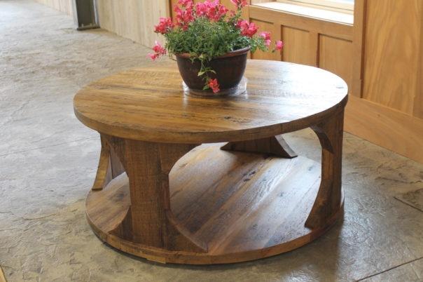 Excellent Premium Round Oak Coffee Tables Regarding Farmhouse Coffee Tables (Image 15 of 40)