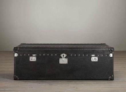 Excellent Premium Steamer Trunk Stainless Steel Coffee Tables Throughout Coffee Table Coffee Table Steamer Trunk Stainless Steel Tree (View 38 of 50)
