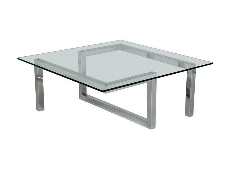 Excellent Premium Steel And Glass Coffee Tables Within 26 Best Tables Images On Pinterest Stainless Steel Table Legs (Image 14 of 50)