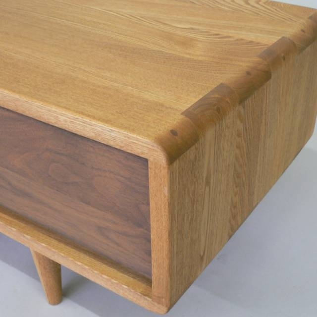 Excellent Premium TV Stands With Rounded Corners For Wood Gallery Itsuki Rakuten Global Market Tv Units Tv Board Tv (Image 10 of 50)